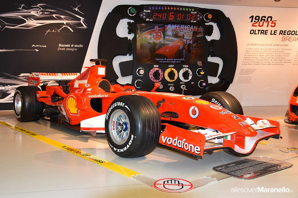 Ferrari formule 1 - Michael Schumacher