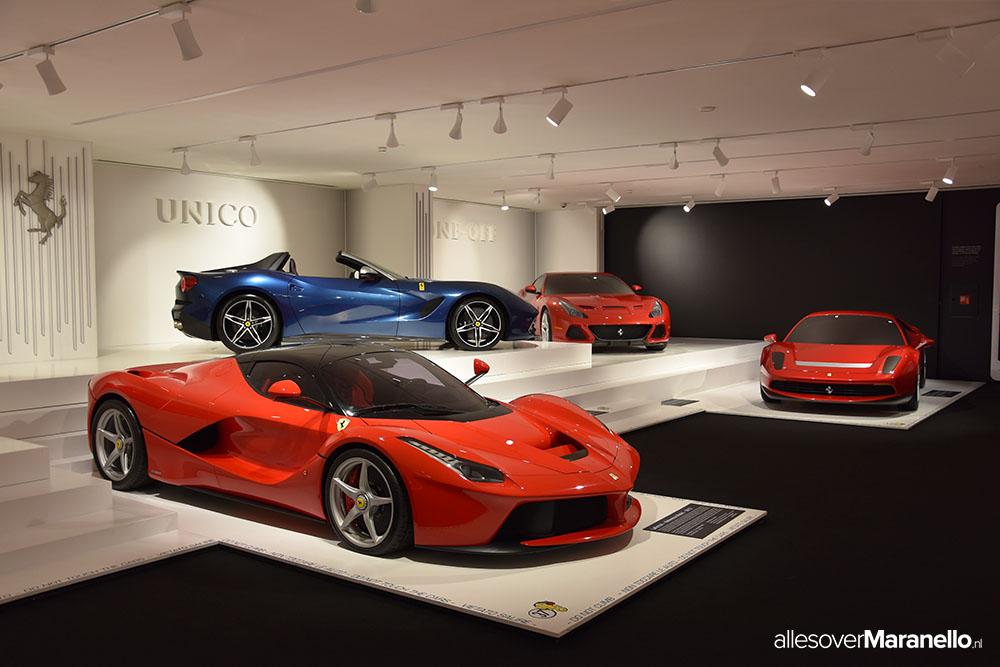Galleria Ferrari Maranello, het officiële Ferrari museum in het Italiaanse dorp Maranello