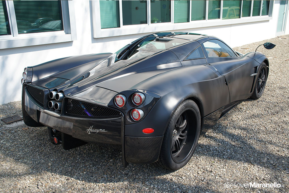 Visiting the Pagani Factory in Italy