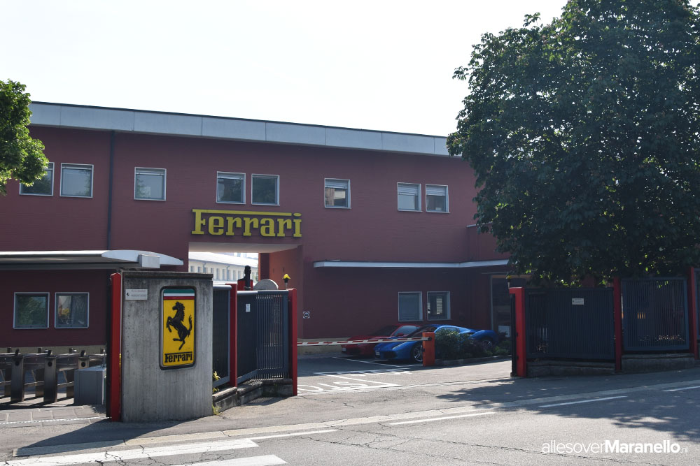 Ferrari fabriek in Maranello